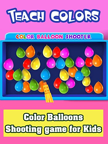 Film Balloon Red (Teach Colors - Color Balloons Shooting game for Kids)