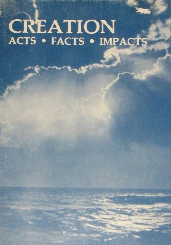Title: CREATION: ACTS, FACTS, IMPACTS.