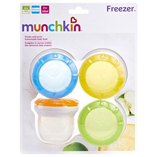 Munchkin 4 Piece Silicone Freezer and Storage Cups by Munchkin (Image #5)