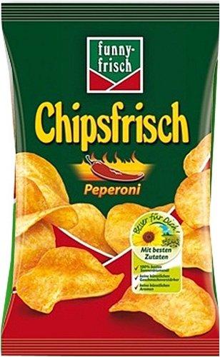 funny-frisch: Chipsfrisch Peperoni - 1 x 175 g