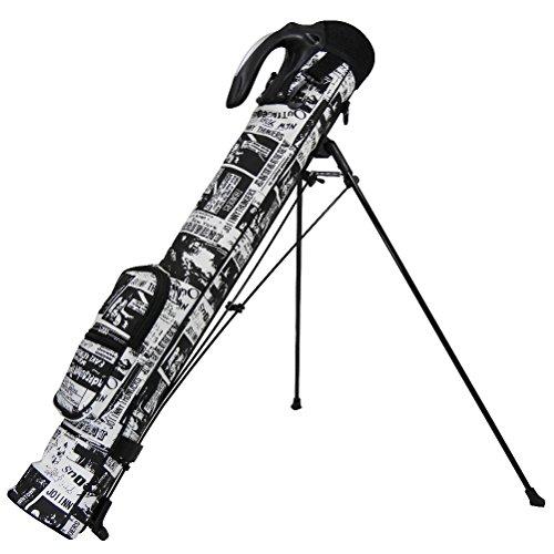 費やすスイッチサイトラインAZROF(アズロフ) - スタンド式クラブケース 63:アメコミブラック  16AZ-SSC02   全長:80cm