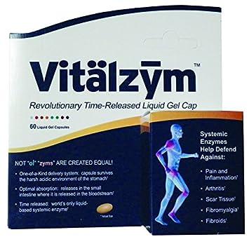 Amazon.com: World Nutrición Vitalzym sistémico enzima, 60 SG ...