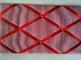 Notice Boards, Memo Boards, Ribbon Boards Red Gingham by Eternal Earth