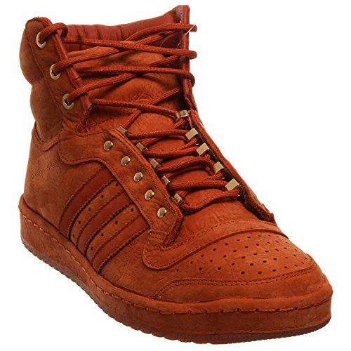 adidas Mens Top Ten Hi Fox Red discounts online pM9N96