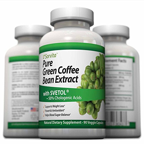 Sorvita-Pure-Green-Coffee-Bean-Extract-with-Svetol-Weight-Loss-Supplement-90-Veggie-Capsules-800-mg-Per-Serving-50-Chlorogenic-Acid-for-Best-Natural-Diet-Support-Money-Back-Guarantee