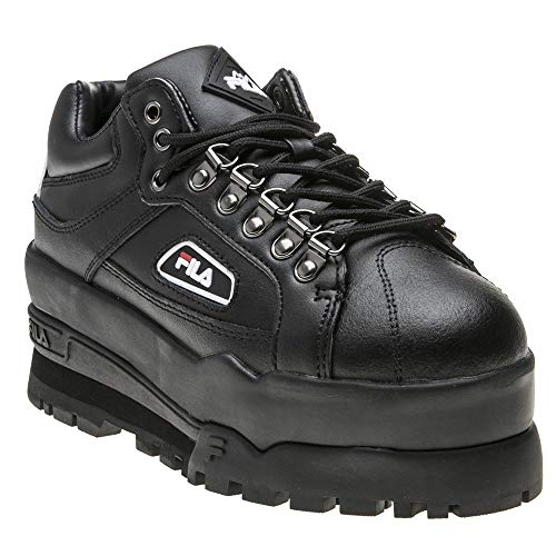 Fila Trailblazer Wedge Womens Sneakers Black