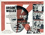 Citizen Kane POSTER Movie (1941) Style N 11 x 17 Inches - 28cm x 44cm (Orson Welles)(Joseph Cotten)(Everett Sloane)(Dorothy Comingore)(Ruth Warrick)(George Coulouris)(Ray Collins)