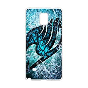 Blue-green Fairy Tail Cell Phone Case for Samsung Galaxy Note4