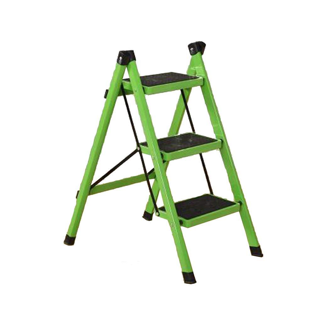 JJJJD ステップスツール、家庭用折りたたみステップスツール厚手の鉄チューブペダル屋内はしご小さなはしご (色 : #3) B07RSGSW2S #3