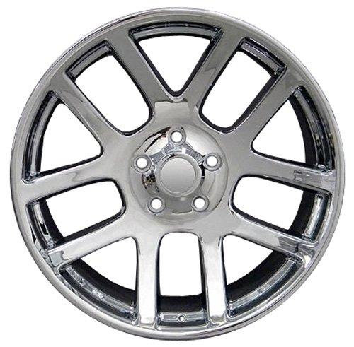 22x10 Wheels Fit Dodge Ram - SRT Style Chrome Rims - SET