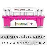 ImpressArt Lowercase Stamp Set, 3mm, Bridgette