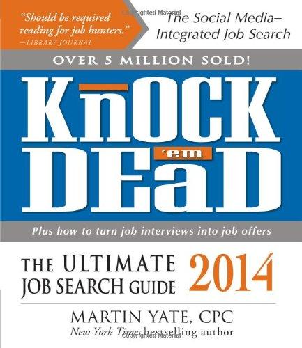 Knock 'em Dead 2014: The Ultimate Job Search Guide pdf epub