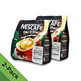 3in1 nescafe - 2 PACK - Nescafé 3 in 1 RICH Instant Coffee (50 Sticks TOTAL) ★ Made from Premium Quality Beans ★ Offers a Relaxing Flavor But with Strong, Solid Essence and Aroma ★ Has a Richer Taste than Nescafé 3 in 1 Original ★ Serve Hot or Cold ★ From Nestlé Malaysia