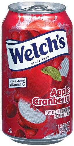 Welch's Apple Cranberry Juice, 11.5 oz - Pk of 24