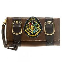 Harry Potter Hogwarts School Emblem Satchel Tri-Fold Wallet