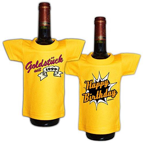 super schönes Mini T-Shirt Set: Goldstück seit 1999 und Happy Birthday