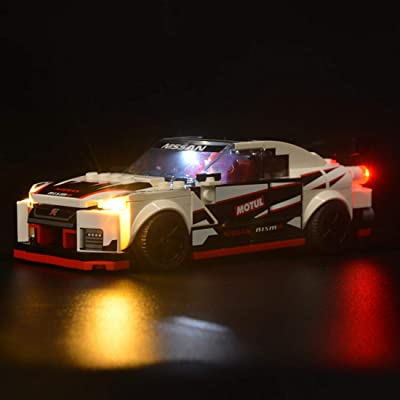 PeleusTech LED Lighting Kit for Lego Nissan GT-R Nismo 76896 - LED Included Only, No Lego Kit: Toys & Games