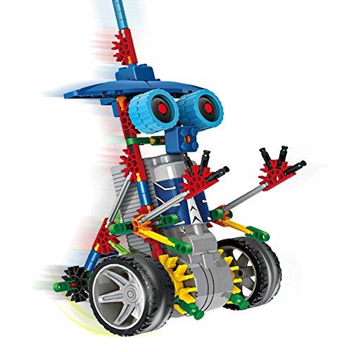 Motorial Alien Robot Robotic Building Set Block Toy Battery Motor