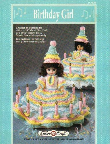 Birthday Girl Stitching Craft Book -