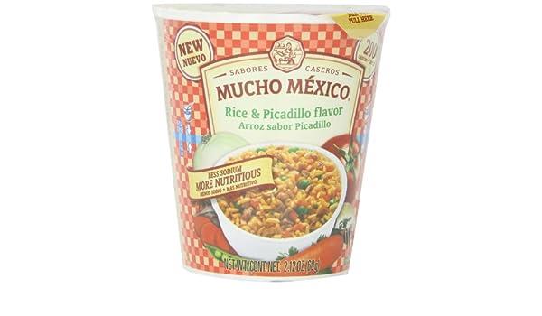 Amazon.com : Mucho Mexico Rice and Picadillo Flavor, 2.12 ...