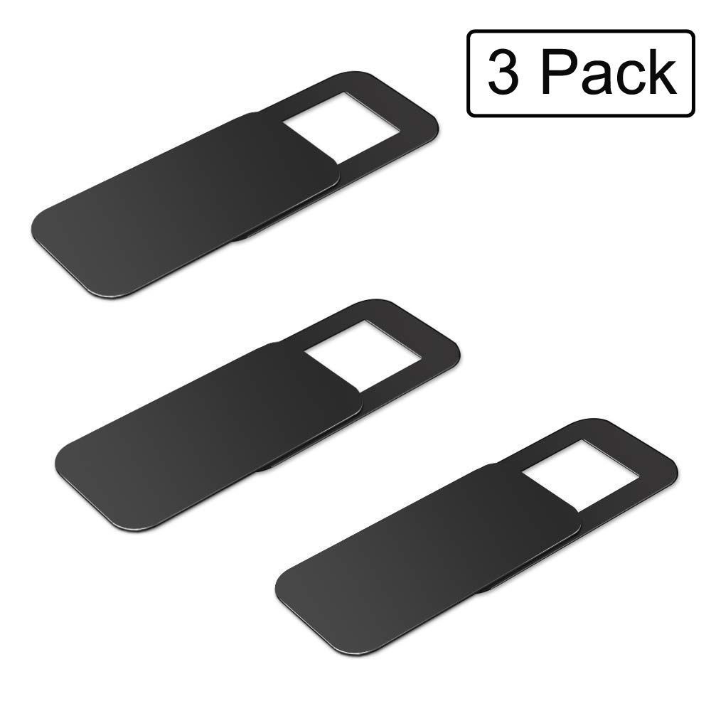 YGL Webcam Cover, 3 Pack Web Camera Cover Slide for Laptop, Desktop, PC, Macboook Pro, iMac, Mac Mini, Computer, Smartphone