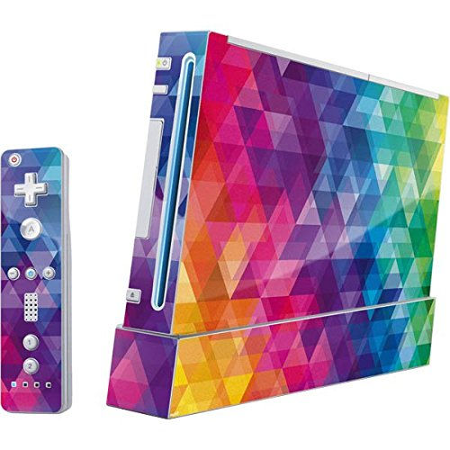 Geometric Wii (Includes 1 Controller) Skin - South Park Vinyl Decal Skin For Your Wii (Includes 1 Controller) (South Park Wii Game)
