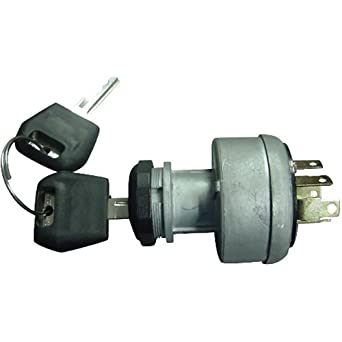 amazon com: d134737 case/ih ignition switch with 2 keys made for tractor  dozer backhoe: industrial & scientific
