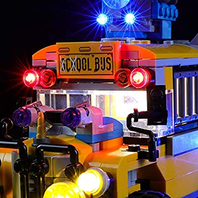 BRIKSMAX Led Lighting Kit for Paranormal Intercept Bus 3000 - Compatible with Lego 70423 Building Blocks Model- Not Include The Lego Set: Toys & Games