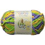 Amazon Com Spinrite Baby Blanket Yarn Lemon Lime