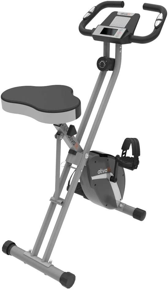 best upright exercise bike: ATIVAFIT Indoor Cycling Bike