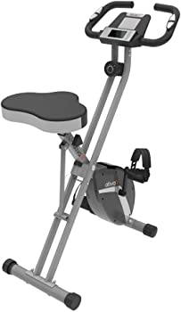 ATIVAFIT Indoor Cycling Folding Magnetic Exercise Bike