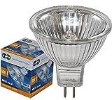 10 LONG LIFE MR16 50w Halogen Bulbs GU5.3 Lamp 12v Halogen with Aluminium Reflector