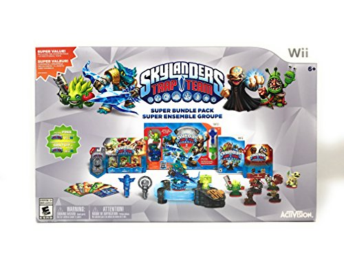 Wii Skylanders Trap Team Holiday Bundle (Trap Queen Costume Halloween)