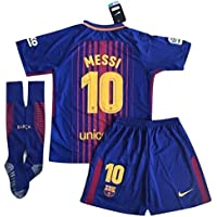 TrendsNow New 2017-2018 Messi #10 Barcelona Home Jersey...