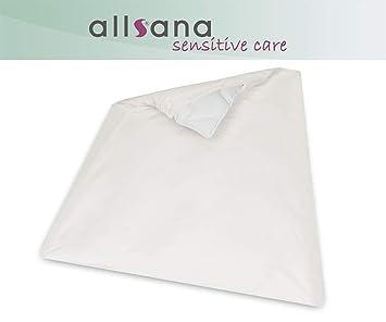 Allsana Allergiker Deckenbezug 135x200 Cm Allergie Bettwäsche Anti