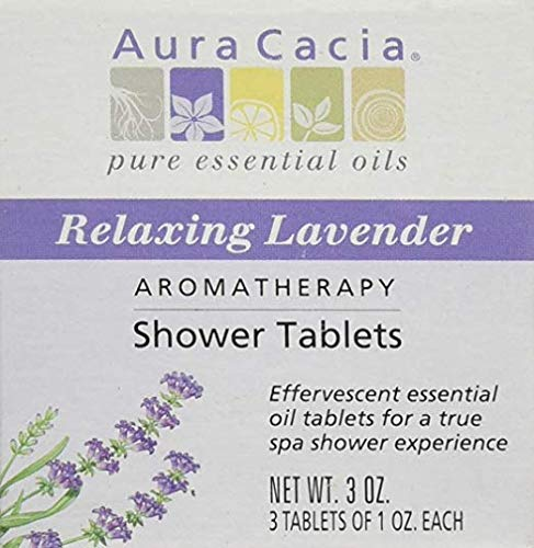 Shower Tablets Relaxing Lavender, 3 OZ.- 3 Tablets of 1 OZ. Each ()