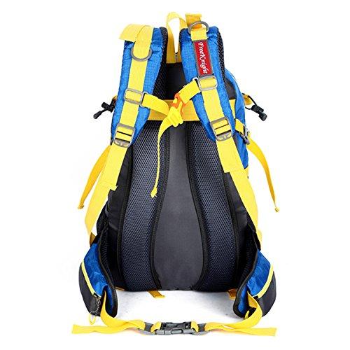 Zaino Alpinismo Leggero Viaggio Daypack Escursionismo Arrampicata Sport impermeabile Borse Zaino Outdoor Uomo Donna-Blu-3