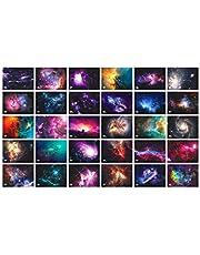 Starry Fantasy Constellation Beautiful Night Sky Postcard Card