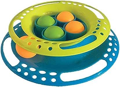 SCREAM Cat Toy, Loud Green & Blue