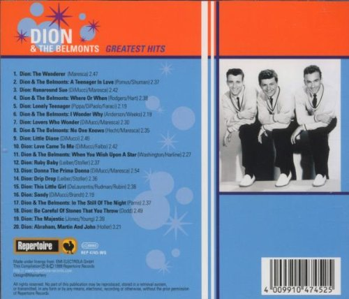 Dion & Belmonts - Greatest Hits