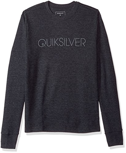 Quiksilver Men's Thin Mark Thermal T-Shirt, Charcoal Heather, XXL ()