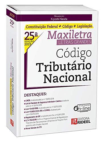 Código Tributário Nacional. Maxiletra. Constituição Federal (+ Código + Legislação)