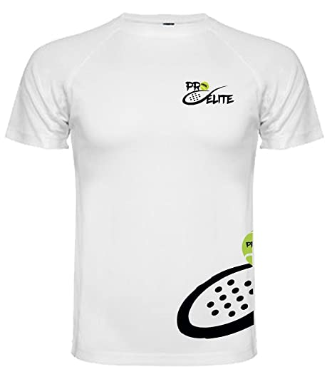 Camiseta Pro Elite Junior Blanca (Talla 12): Amazon.es ...