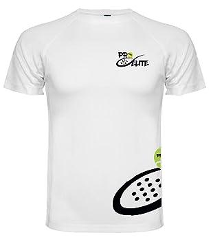 Camiseta Pro Elite Junior Blanca (Talla 8): Amazon.es: Deportes y aire libre