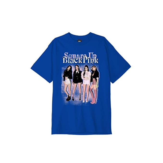 BLACKPINK Square Up Blue T-Shirt