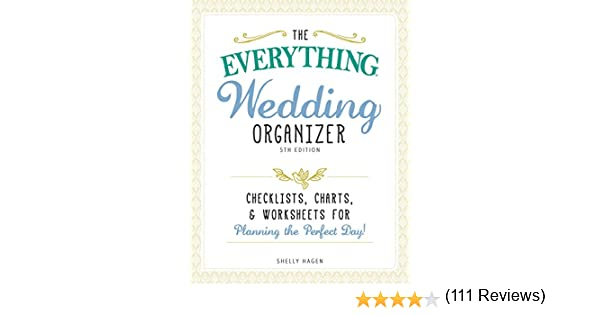Counting Number worksheets future going to worksheets : The Everything Wedding Organizer, 3rd Edition: Checklists, charts ...