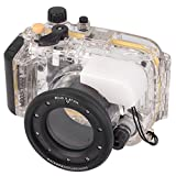 EACHSHOT 40m/130ft Waterproof Underwater Housing Case Cover Bag For Sony DSC-RX100 With 67mm Red Filter