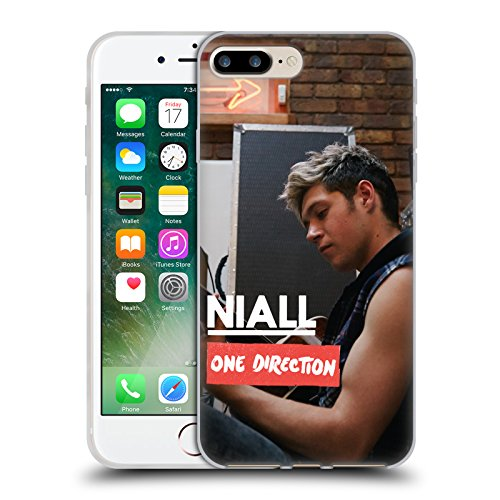 Official One Direction Side View Niall Horan Photo Soft Gel Case for Apple iPhone 7 Plus / 8 Plus