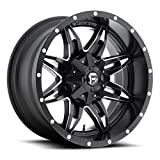 Fuel Lethal 15 Black Wheel / Rim 5x4.5 & 5x4.75 with a -18mm Offset and a 72.6 Hub Bore. Partnumber D56715800437