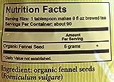 Heather's Tummy Teas Organic Fennel Tea for IBS, 16 Ounce Loose Tea Pouch